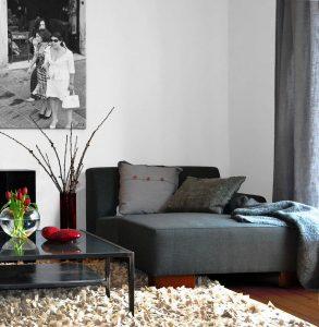 Borgmann Immobilienkontor Wohnbereich mit Recamiere